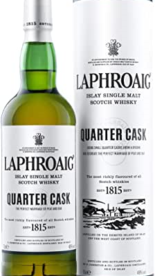 COMPRAR WHISKY Laphroaig Quarter Cask Single Malt Whisky Escoces Ahumado